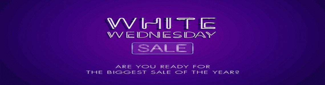 White Wednesday Sale 2020